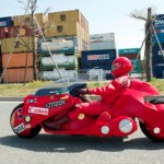 Réplica oficial y funcional de la moto de Kaneda, de Akira